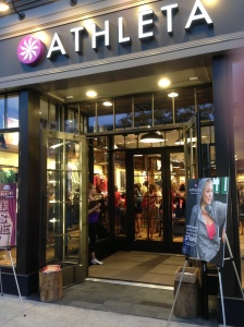 The new Athleta at Bayshore Mall