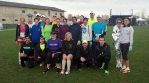 Kenosha Running Club at the Wisconsin Marathon. May 4, 2013