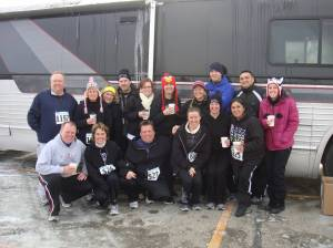OFG At the Sampson Stomp 5k, January 2012