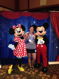 Mickey and Minie came to the dinner so I had to get my pic with them.