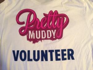 Back of my volunteer t-shirt
