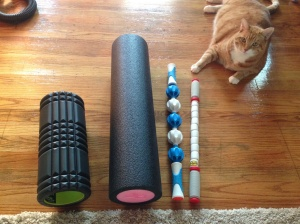 2 rollers, addaday and the stick. All are Charlie approved!