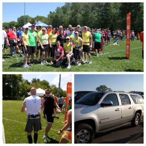 Kenosha running club Ragnar members... We had people on several teams, go KRC!