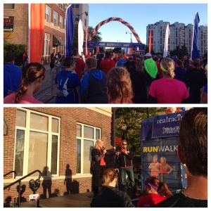 Getting ready to start, Dan and Jackie Evans from Biggest Loser season 5