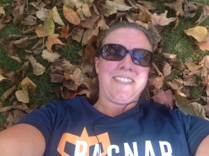 I look silly but I so wanted a pic of me laying on the ground