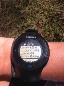 Yeah 4 mile run!
