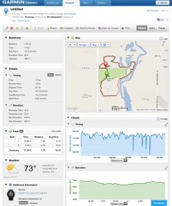Felt so good to be running again.