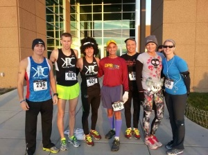 KRC group before the race!