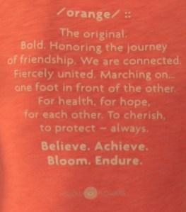 story of the orange flower