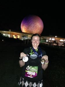I did it!  And I got my coast to coast medal!