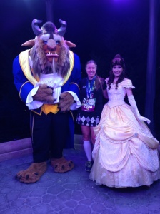 With Belle and the Beast